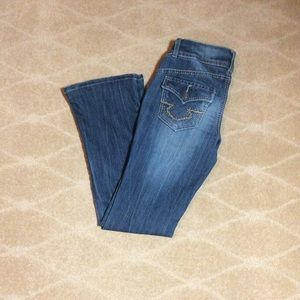 Mossimo Supply Co. Boot Cut Jeans, Size 1